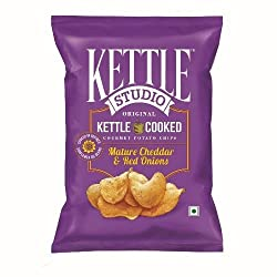 Kettle Studio Mature Cheddar and Red Onion (Pack of 5)