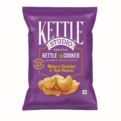 kettle Studio Mature Cheddar and Red Onion (Pack of 5)  available at amazon for Rs.161