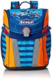 Scout 734107 Sunny Set Kinder-Rucksack, Blau/Orange