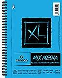 """Canson XL Mix Media Zeichenblock für Mischtechnik, 0, 5.5""""X8.5"""""""