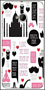 Snoogg India Icons Illustration 2870 Designer Protective Back Case Cover For HTC M7