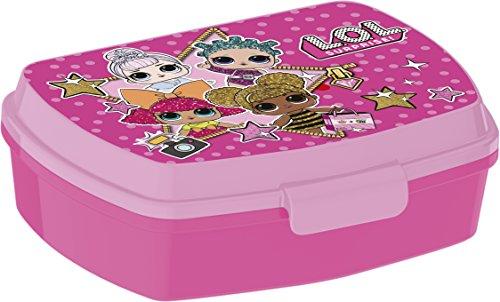Stor l.o.l surprise fiambrera-sanwichera, colore rosa (44374)