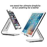 iPad Pro 9.7 Ständer , iPad Tablet Ständer Halter , SOONHUA Aluminium Desktop Handys Tablet Ständer Halter Halterung für iPad Pro 9.7 iPad Air Mini, E-Reader, iPhone Samsung (3.5-6  Handys & 7-10  Tablette)