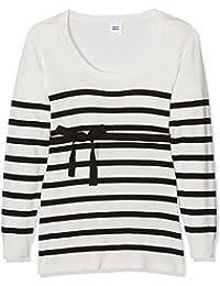 MAMALICIOUS Mlanga L/S Knit Top, Jersey Premamá para Mujer