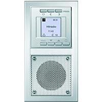 PEHA D 20.485.70 - Radio (Clock, Digital, FM, 83 mm, 45 mm, 155 mm) Aluminio (importado)