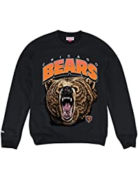 "Chicago Bears Mitchell & Ness NFL ""Animal"" Crew SweatShirt Chemise"