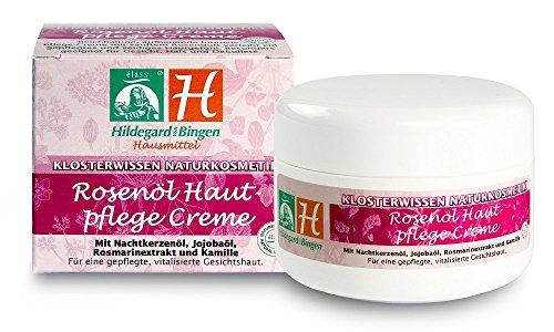 Hildegard von Bingen Hausmittel Rosenöl Hautpflege Creme, 100 ml