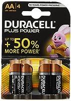 Piles Alcalines - Duracell Plus Power - AA - LR06 - 1.5V - Pack de 4 UNE ENERGIE LONGUE DUREE GARANTIE Duracell Plus Power vous offre une performance fiable et une puissance longue durée pour un large éventail d'appareils du quotidien. Vous pouvez co...