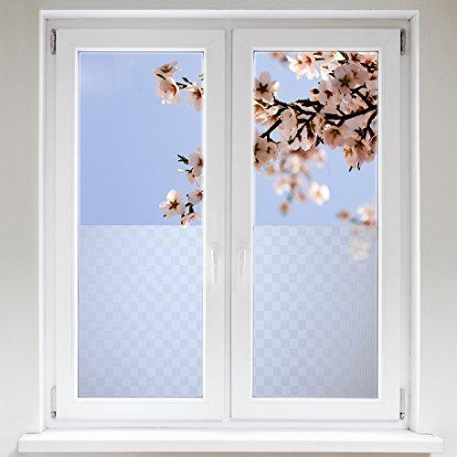 Artefact® Dekofolie / Fensterfolie Quad | statisch haftend (ohne Kleber) | verschiedene Größen