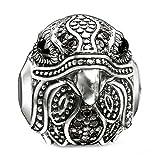 Thomas Sabo Damen-Bead KARMA Falke 925 Silber Zirkonia schwarz Onyx - K0181-641-11