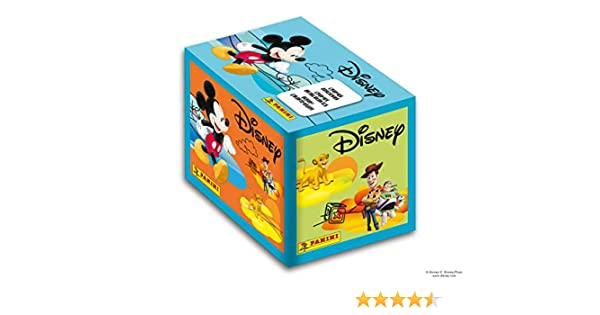 2413-004 Panini-250 Stickers Une Semaine avec tes h/éros Disney