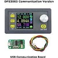Tester USB 3.0 Spannungs und Kapazit/ätsmessger/ät Farbe LCD Display Strom Batterie Voltmeter Free Size blau