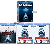 LO SQUALO - La Saga Completa (4 Film - 4 Blu-ray)