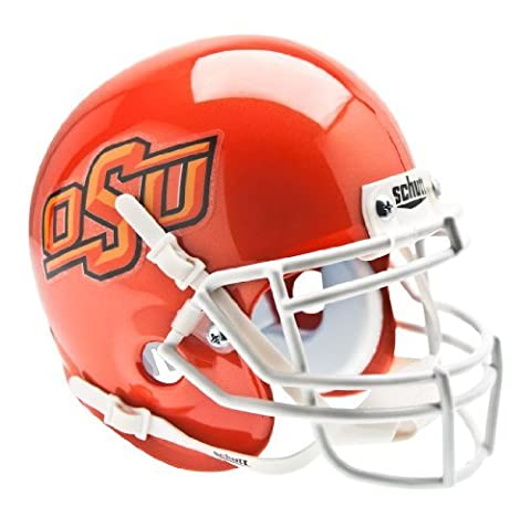 NCAA Oklahoma State Cowboys Collectible Alt 7 Mini Helmet, Pearl