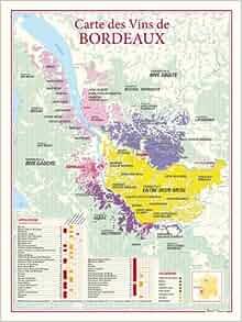 Amazon.fr - Carte des vins de Bordeaux - Benoit France