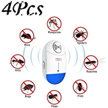 4Pc Frequency Conversion Ultrasonic Multifunction Insect Repellent Pest Repeller