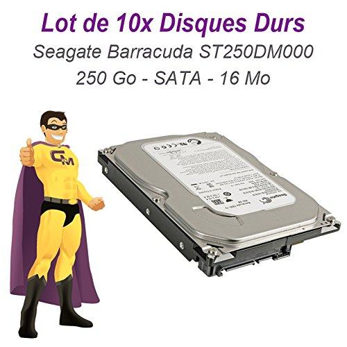 Seagate technology 'lotto 10x hard disk 250gb seagate barracuda st250dm0003.5sata iii 16mb 7200