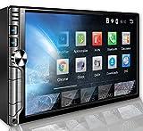 Tristan Auron BT2D7019A Autoradio mit Android 8.1, 7'' Touchscreen Bildschirm, GPS Navi, Bluetooth Freisprecheinrichtung, Quad Core, MirrorLink, USB/SD, OBD 2, DAB+, 2 DIN