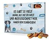 printplanet Hunde-Adventskalender mit Leckerlis - Motiv Es gibt so viele. - Weihnachtskalender für Hunde