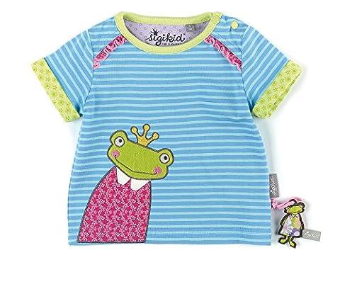 Sigikid Baby - Mädchen T-Shirts T - Shirt, Baby, Gr. 86, Blau (alaskan 596)