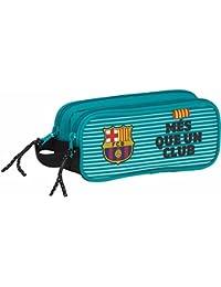 Safta FC Barcelona Estuches, 21 cm, Turquesa