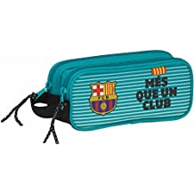 Futbol Club Barcelona - Estuche portatodo doble (Safta 811727513)