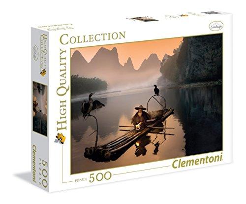 Clementoni - 350223 - Puzzle - Le vieux pêcheur - 500 Pièces