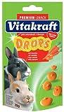 Vitakraft Rabbit Drops Carrot Drops 75G Fast Postage