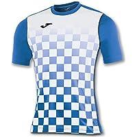 Joma Flag M/C Camiseta Equipamiento, Hombre, Royal/Blanco, XS