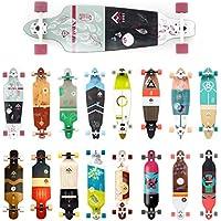 Rune Longboards in verschiedenen Designs und Groessen (Drop Through, Pintail, Kicktail, Drop Down)