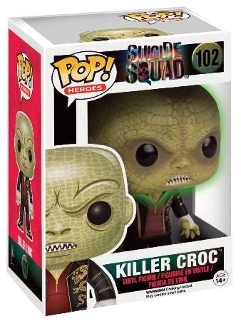 Funko Pop Killer Croc (Escuadrón Suicida 102) Funko Pop Escuadrón Suicida