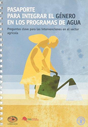 Pasaporte para integrar el g¿ro en los programas de agua