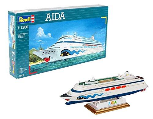 Imagen 7 de Revell 05805 - Maqueta de buque Aida (escala 1:1200)