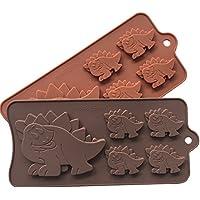 Asien molde de la torta del dinosaurio Forma Moldes para Hornear Animales, Hornear, mini