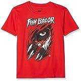 WWE Jungen T-Shirt Balor Tear, Rot (Red Red), 13-14 Jahre