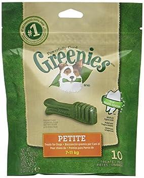 Greenies bâtonnet à mâcher pour l'hygiène dentaire petit chien - Lot de 6x10 os