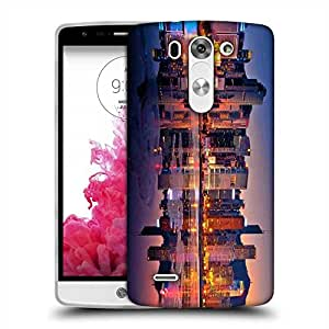 Snoogg Abstract Buildings Designer Protective Phone Back Case Cover For LG G3 BEAT