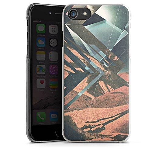 Apple iPhone X Silikon Hülle Case Schutzhülle Mars Hipster Muster Hard Case transparent