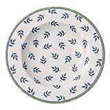 Villeroy & Boch Switch 3 Cordoba Suppenteller, aus ansprechendem Hartporzellan, 23 cm Teller, Porzellan, Blau