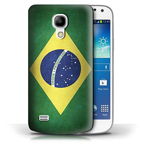 Etui / Coque pour Samsung Galaxy S4 Mini / Columbia/Colombie conception / Collection de Drapeau Brésil/brésilien