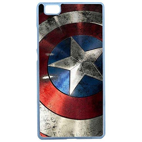 Aux Prix Canons - Etui housse coque Marvel Comics Avengers Captain America Huawei P 10, Coques iphones