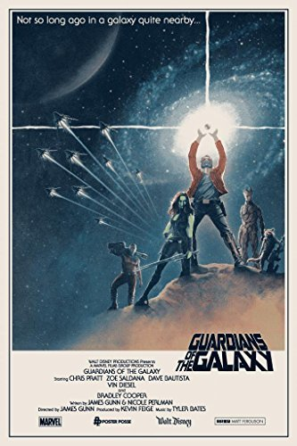 GUARDIANS OF THE GALAXY - Star Wars US Imported Movie Wall Poster Print - 30CM X 43CM Brand New -