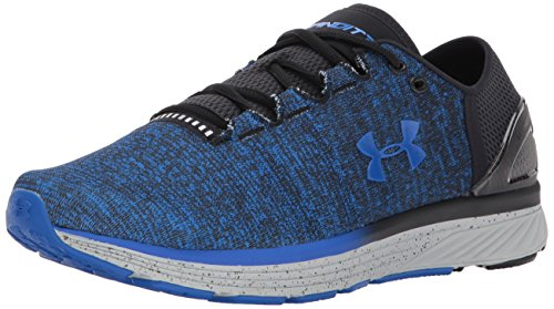Under Armour UA Charged Bandit 3, Scarpe da Corsa Uomo, Multicolore Black/Ultra Blue, 47 EU