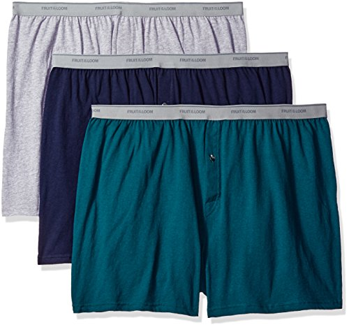 Fruit of the Loom Men's Boxer Shorts Pack Of 3