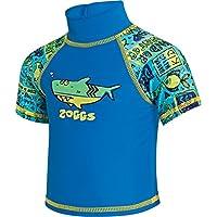 Zoggs Deep Sea Sun Camiseta, Infantil, Blue/Multi-Colour, 6-12 Meses