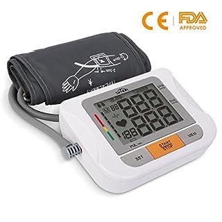 SIMBR Oberarm Blutdruckmessgerät mit großer manschette(22-42CM), Gute Lesbarkeit, CE, FDA, ROHS zertifiziert