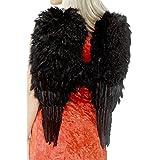 Alas de ángel con plumas disfraz cielo disfraz vestuario atuendo