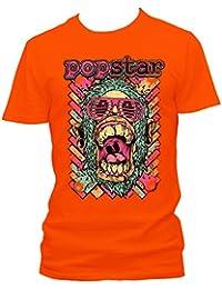 Pop star Cooles Party Herren Shirt