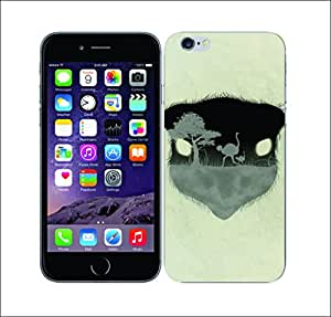 Galaxy Printed 2454 Nature Of Animal Ostrich Hard Cover for Apple Iphone 6 Plus
