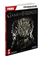 Game of Thrones - Prima Official Game Guide de Mike Searle